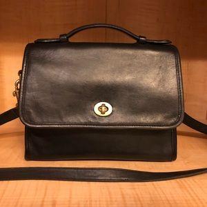 Vintage Coach Court Bag 9870